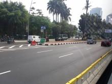 Kopaja dan Metromini 'Menghilang' dari Sudirman-Thamrin