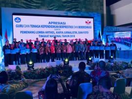 117 Guru dan Tendik Diganjar Penghargaan