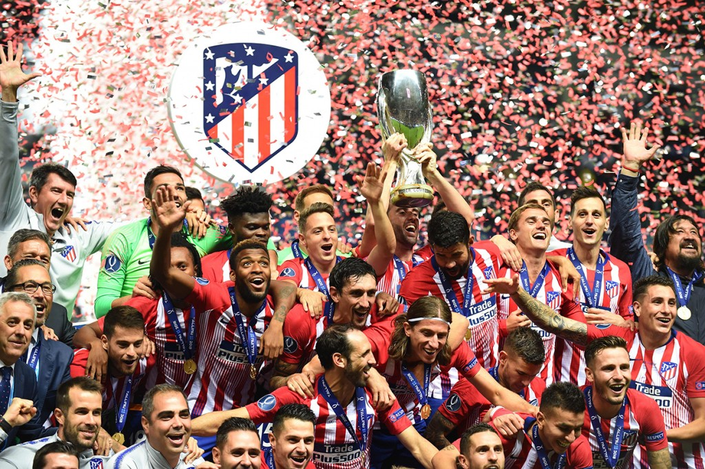 Tekuk Real Madrid, Atletico Juara Piala Super Eropa