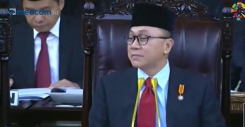 Ketua Majelis Perwakilan Rakyat (MPR) Zulkifli Hasan. (FOTO: