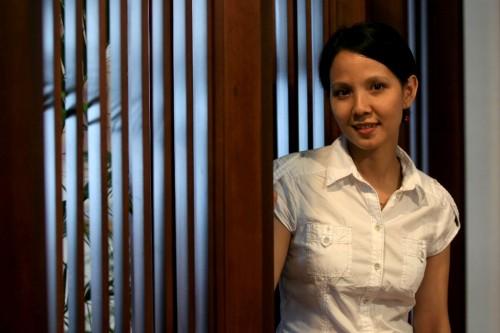 Mantan atlet taekwondo Indonesia, Juana Wangsa Putri (Foto: Adam