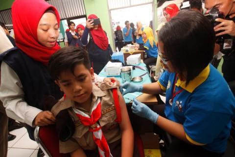 Musabab Sertifikasi Halal Vaksin MR Lambat