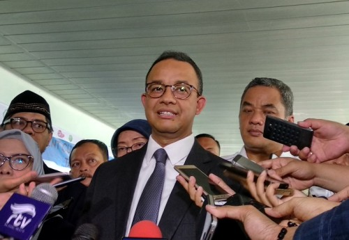 Jakarta Governor Anies Baswedan (Photo: Medcom/Nur Azizah)