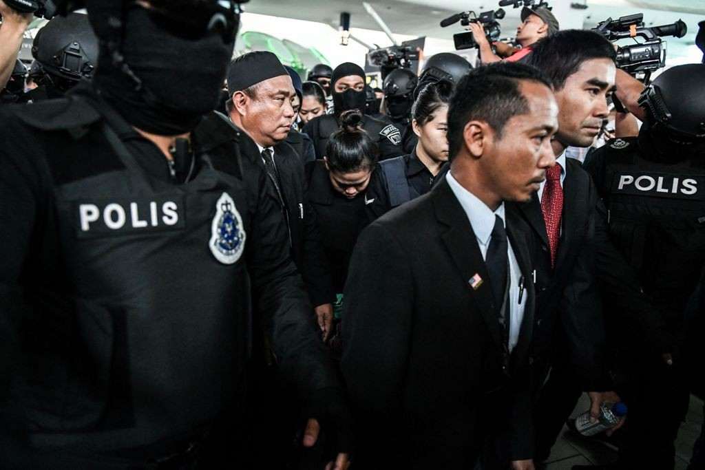 Siti Aisyah dituduh membunuh Kim Jong-Nam (Foto: AFP).