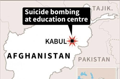 Bom Bunuh Diri di Sekolah Afghanistan Tewaskan 48 Orang