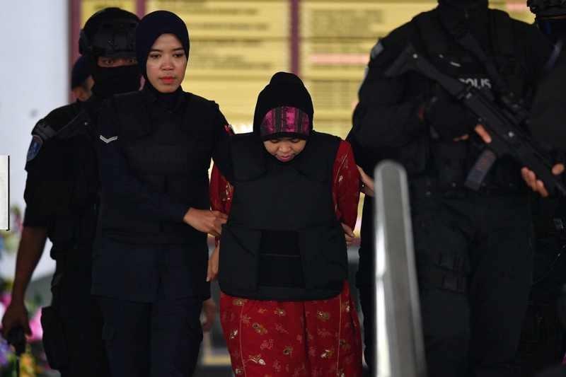 Pengadilan Malaysia memerintah Siti Aisyah untuk mempersiapkan pembelaan (Foto: AFP).
