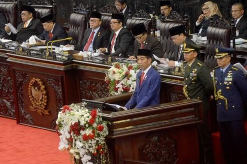President Joko Widodo (Photo:MI/Susanto)