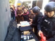 Kejari Makassar Musnahkan Ribuan Detonator dan Bahan Peledak