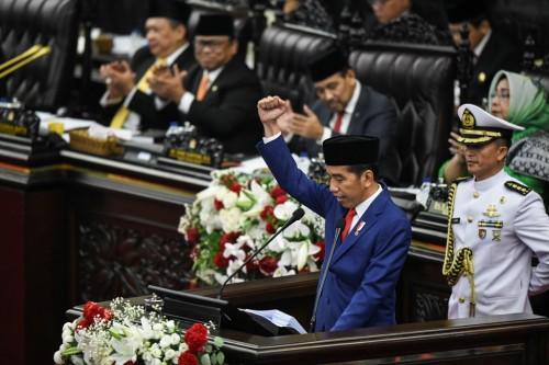 President Joko Widodo (Photo:Antara/Hafidz Mubarak A)
