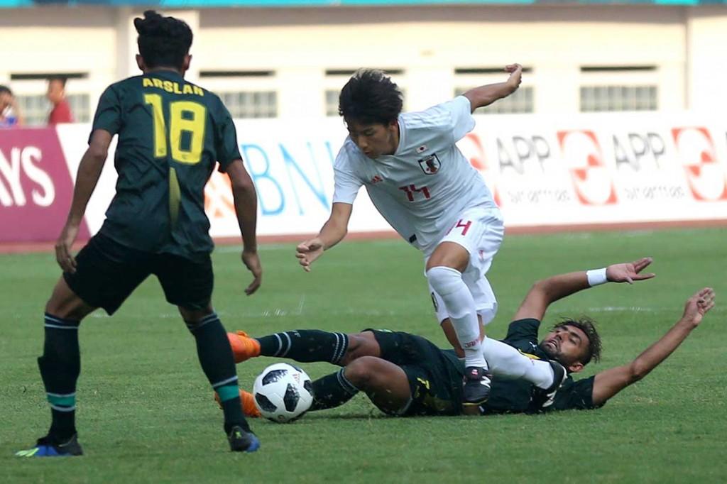 Timnas Jepang Tundukkan Pakistan 4-0