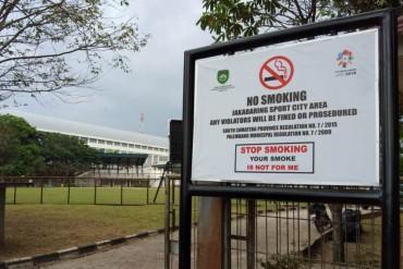 Jakabaring Bebas Asap Rokok Selama Asian Games