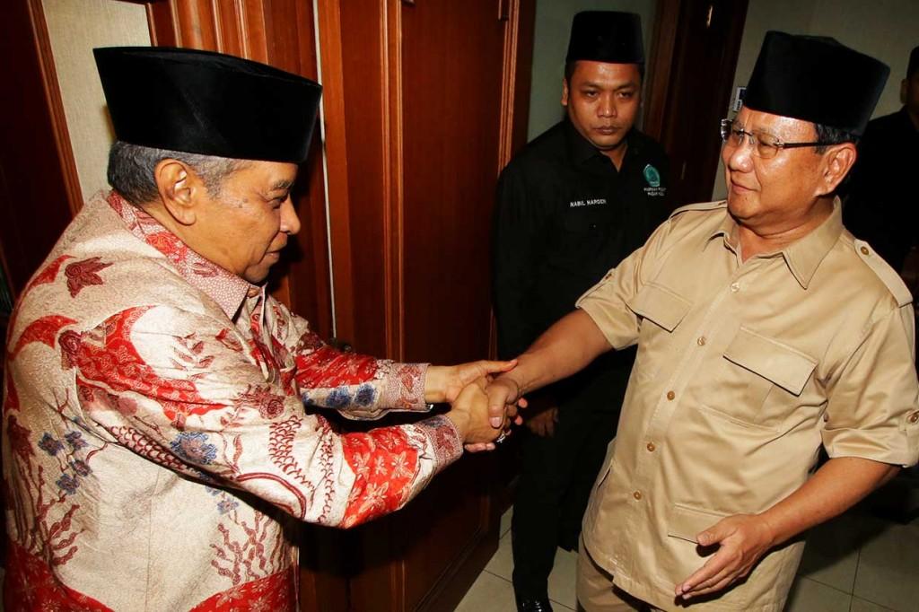 Prabowo-Sandi Silaturahmi ke PBNU