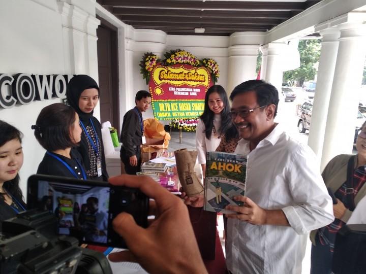 Djarot tak Masuk Tim Pemenangan Jokowi-Ma'ruf
