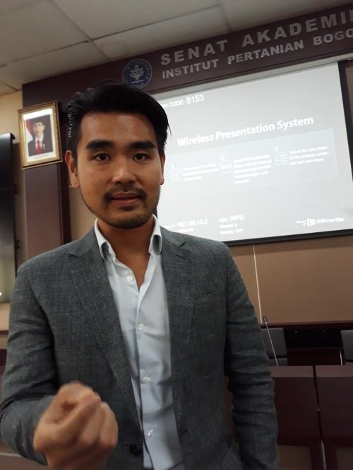 Bagus Putra Muljadi, ilmuwan diaspora Indonesia yang saat ini
