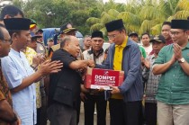 Media Group Kembali Serahkan Bantuan untuk Korban Gempa Lombok