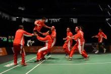 Tim Bulu Tangkis Putra Indonesia Langsung ke Perempat Final