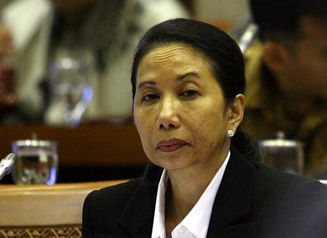 Menteri BUMN Rini Soemarno MI/Susanto.