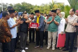Media Group Serahkan Bantuan Kemanusiaan pada Korban Gempa Lombok