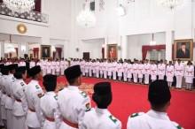 Tim Nusa Jadi Pengibar Sang Merah Putih di Istana Merdeka
