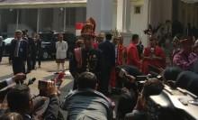 Jokowi Pakai Pakaian Adat Aceh Pimpin Upacara Proklamasi Kemerdekaan RI