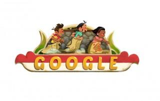 Google Doodle untuk Rayakan HUT ke-73 RI