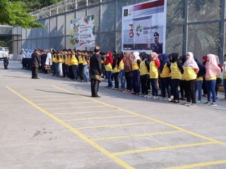 Warga Binaan Rutan Cilodong Rayakan Kemerdekaan