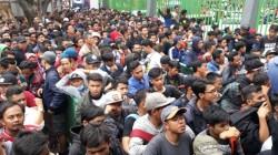 Sejumlah Calo Tiket Ditangkap Jelang Laga Indonesia Melawan Laos
