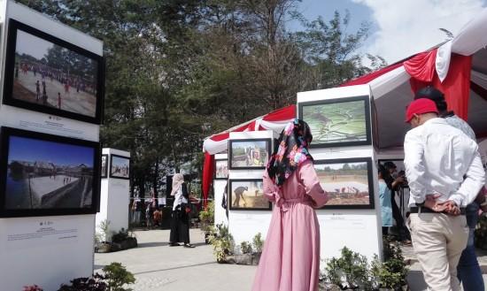 Kemendes PDTT Publikasikan Program Dana Desa melalui Pameran Foto