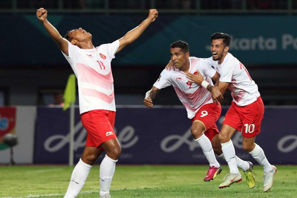 Indonesia Lumat Laos 3-0