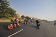 Ribuan Bikers Konvoy Merdeka