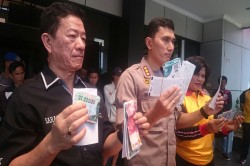 Belasan Calo Tiket Dibekuk di Bekasi