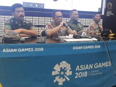 8.107 Personel Amankan Pembukaan Asian Games 2018