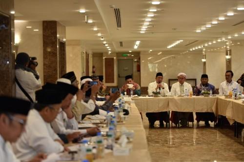 Rapat koordinasi Kementerian Agama RI dan Tim Pengawas DPR RI di