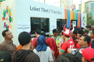 Pengawasan Tiket Laga Indonesia vs Hong Kong Diperketat
