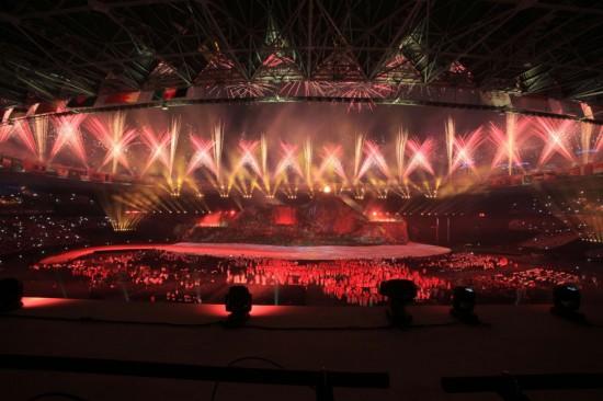 Pembukaan Asian Games 2018 Mewah, Indonesia Megah