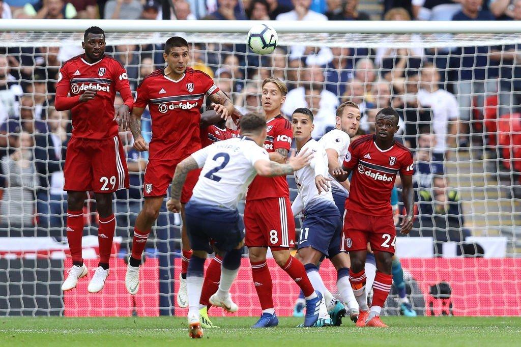 Suasana laga Tottenham Hotspur vs Fulham. (Foto: Twitter Tottenham Hotspur)