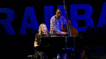 Diana Krall Mengenang Mendiang Aretha Franklin di Prambanan Jazz 2018