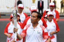 Peristiwa Obor Asian Games Padam tak Usah Dipolitisasi
