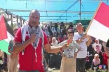 Warga Palestina Antusias Ikuti Perlombaan Khas HUT RI
