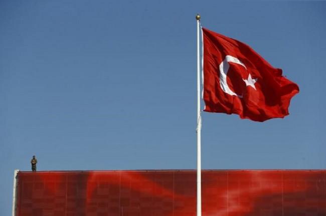 Bendera Turki. Dok:AFP.