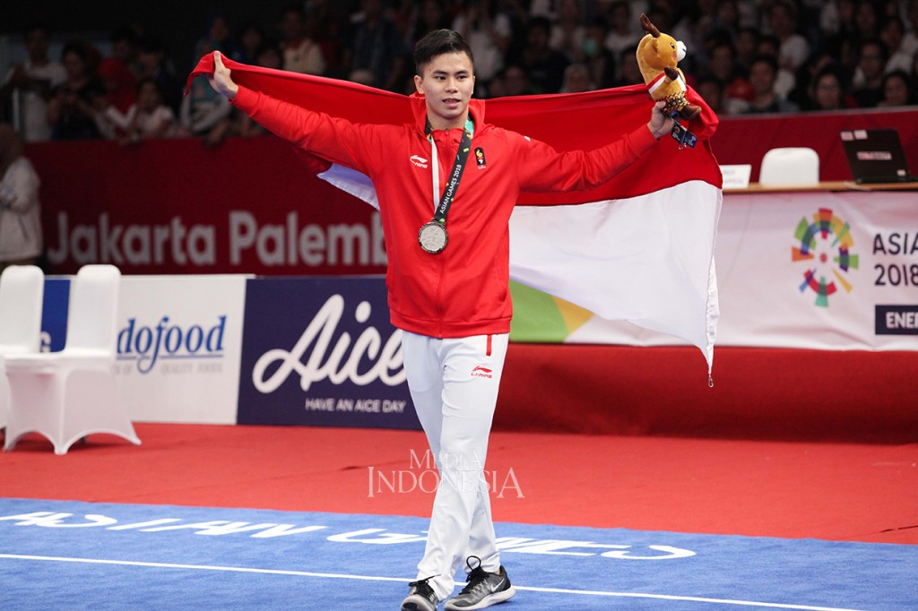 Wushu Sumbang Medali Pertama untuk Indonesia