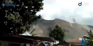 Gempa 6,5 SR Picu Longsor di Lereng Gunung Rinjani