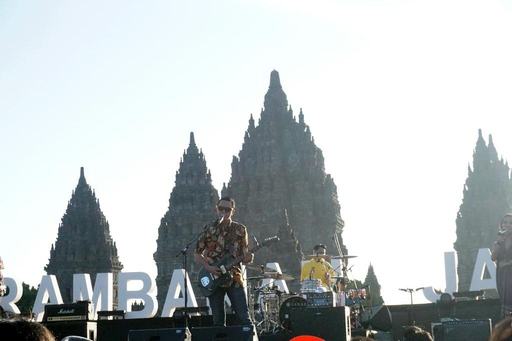 Barasuara (Foto: Medcom/Elang)