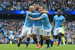 Man City Hancurkan Huddersfielad
