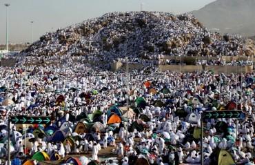 Badai Hujan Menerpa Tenda Jemaah Haji di Arafah