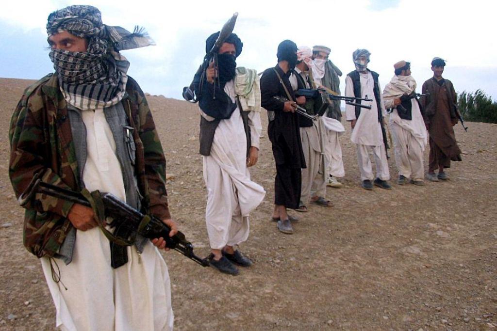 Militan Taliban sepaka gencatan senjata dengan Pemerintah Afghanistan pada Iduladha (Foto: AFP).