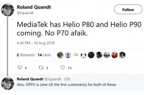 MediaTek Tengah Kembangkan Helio P80 dan Helio P90