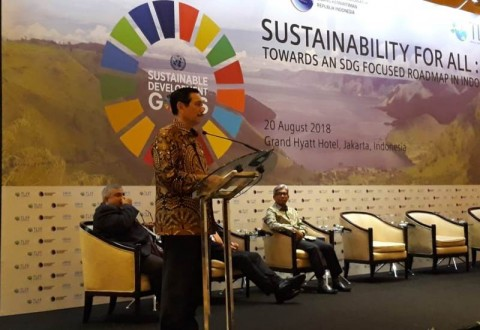 Luhut Tegaskan Indonesia Tengah Berjuang Implementasikan SDGs
