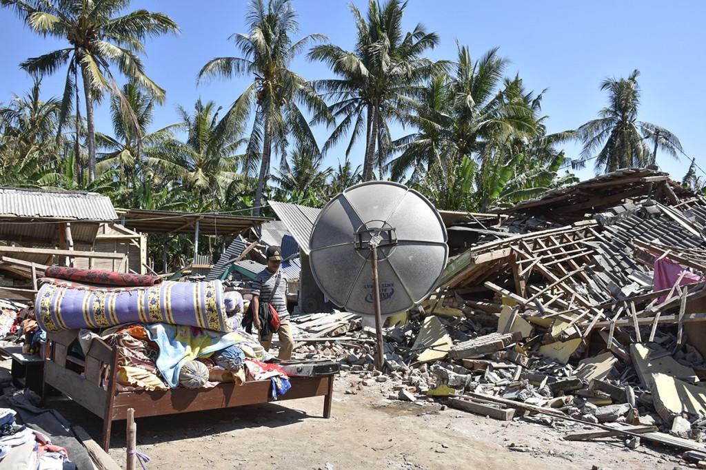 Begini Kerusakan Akibat Gempa Susulan 7 SR di Lombok
