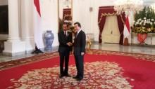 Jokowi Receives South Korean PM
